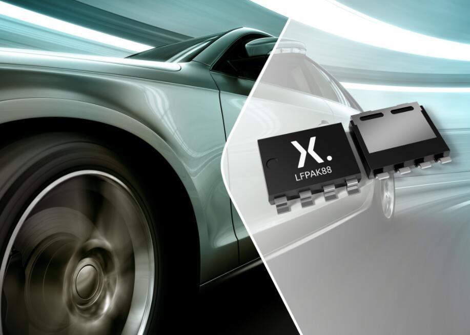 Nexperia's new 40 V low RDS(on) MOSFET helps automotive and industrial applications achieve a higher power density